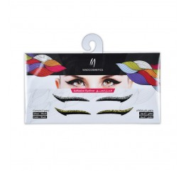 Eyeliner Adhesive Sticker - Metallics / Black