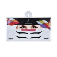 Eyeliner Adhesive Sticker - Black/Black