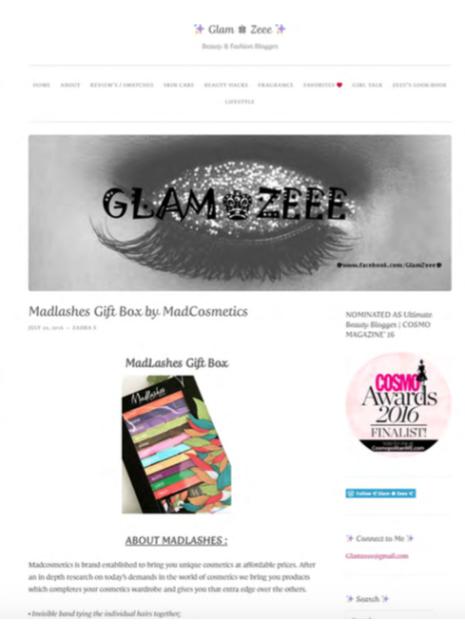 Glam Zeee Online