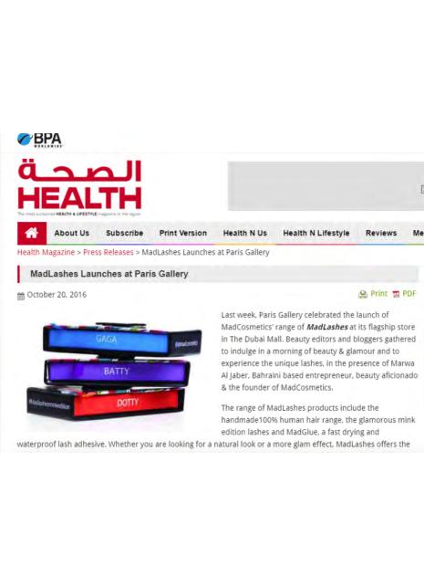 Health Magazine Online