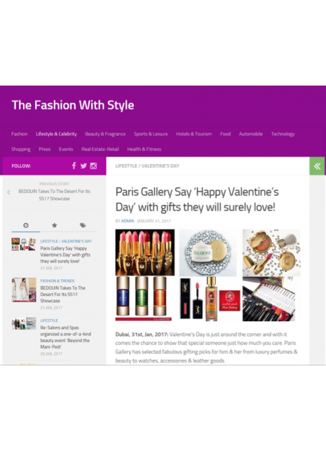 The Fashion with Online Style